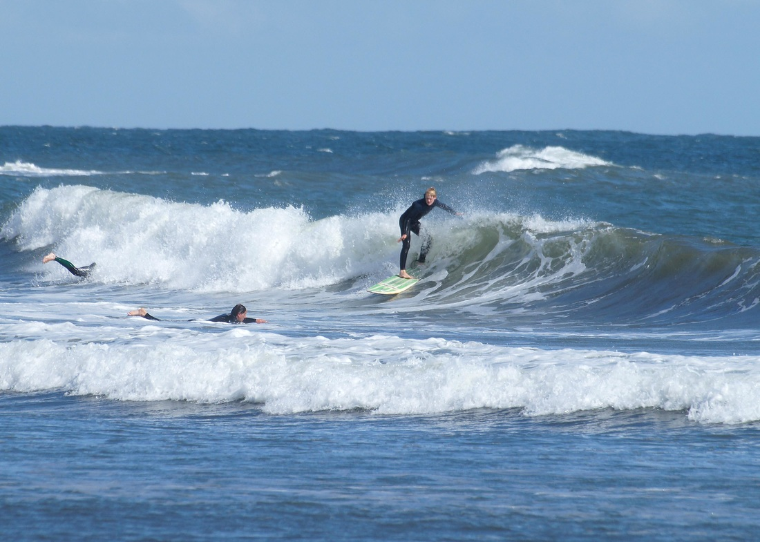 Surfing, langland, gower, waves, surf,